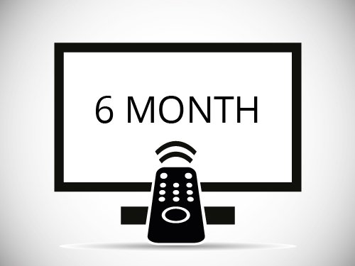 6 Months IPTV Subscription